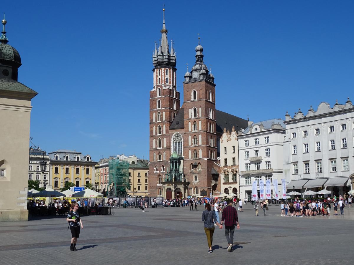 Markplatz Krakau